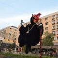 Statuie ce leviteaza Levitating Statuie Trupa de Dans si Entertainment The Sky Iasi by Adrian Stefan