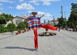 Catalige Picioroange Stilts Trupa de Dans si Entertainment The Sky Iasi by Adrian Stefan