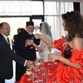 Masa primire speciala divina Trupa de Dans The Sky Iasi Primirea Invitatilor nunta