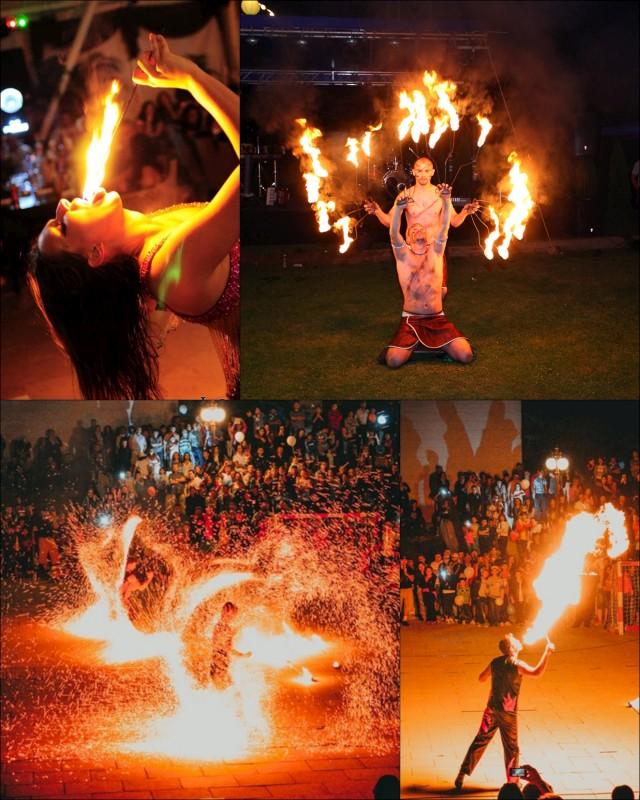Fachiri FIRE SHOW Trupa de Dans si Entertainment The Sky Iasi by Adrian Stefan