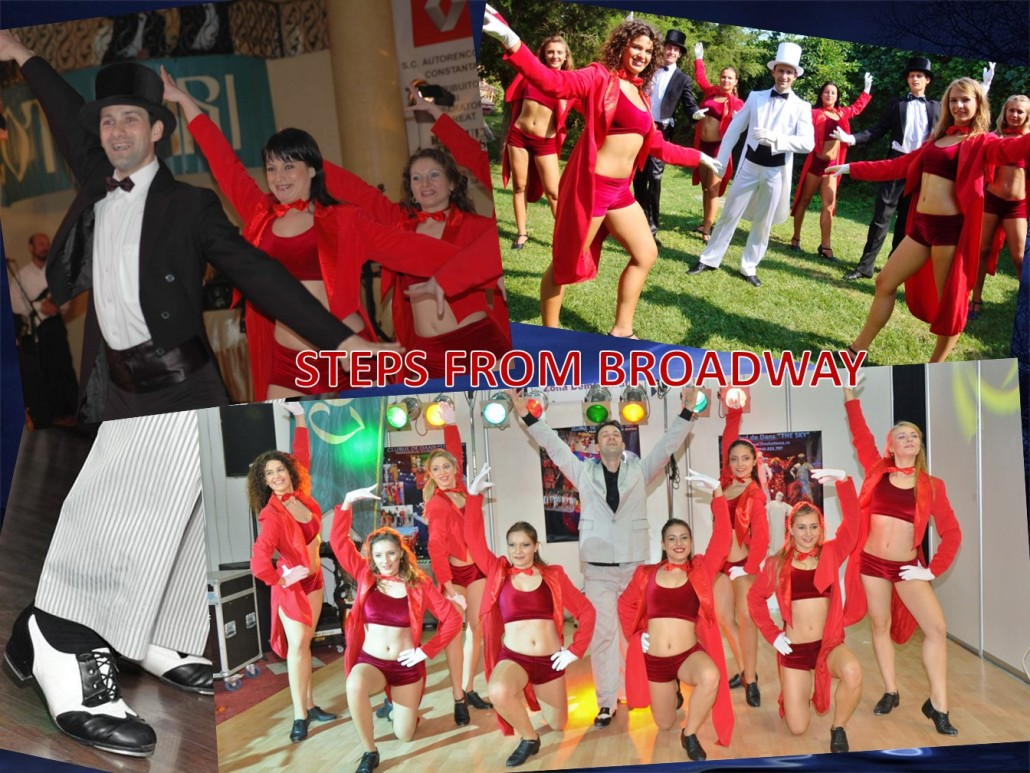 STEPS FROM BROADWAY Trupa de Dans si Entertainment The Sky Iasi by Adrian Stefan
