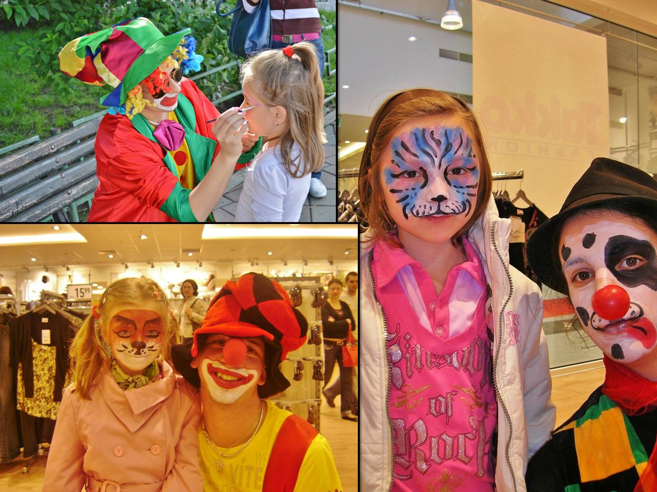 Face Painting Trupa de Dans si Entertainment The Sky Iasi by Adrian Stefan