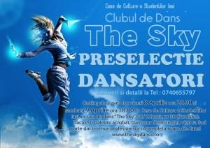 AFIS Preselectie 8-9 aprilie 2016 Trupa de dans The Sky