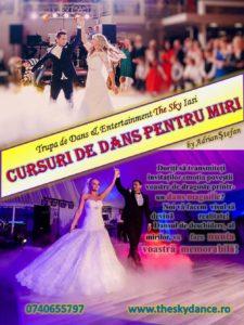 Afiș Cursuri de dans pentru Miri nunta