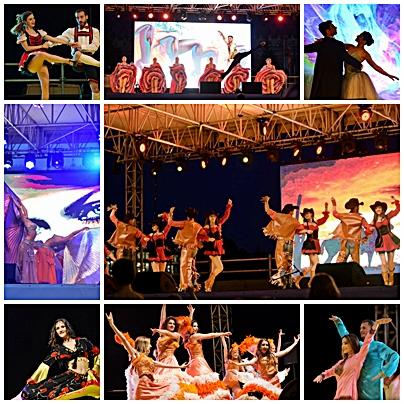 colaj 1 Dance History Trupa de Dans si Entertainment The Sky Iasi by Adrian Stefan