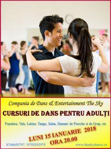 Curs de dans pentru tineri adulti petreceri