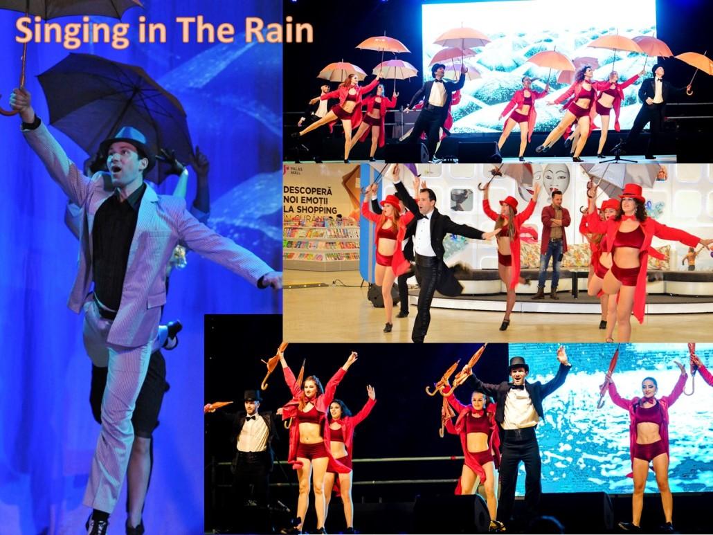 Singhing in the Rain Step Tap dDance Trupa de Dans The Sky Iasi by Adrian Stefan