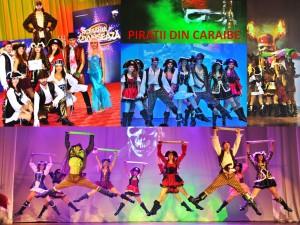 PIRATII DIN CARAIBE Trupa de Dans si Entertainment The Sky Iasi by Adrian Stefan PIRATE SHOW