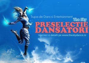afis preselectie Compania de dans The Sky