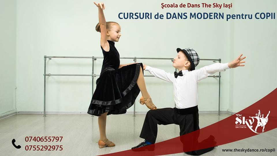 Curs de Dans Balet si gimnastica pentru Copii Iasi The Sky