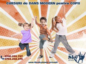 Curs de Dans Modern pentru Copii Iasi The Sky