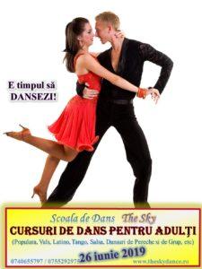 Curs de dans pentru adulti Iasi - Scoala The Sky
